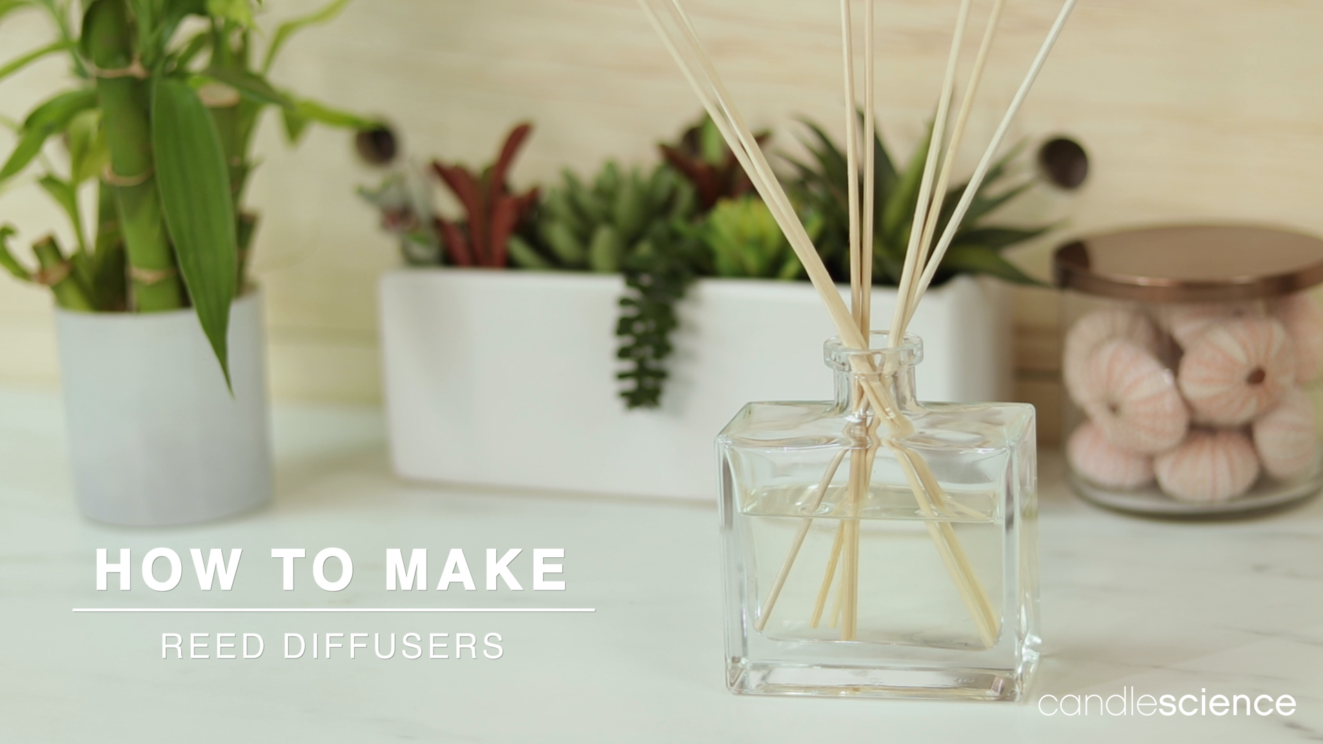 How to make reed diffuser video guide